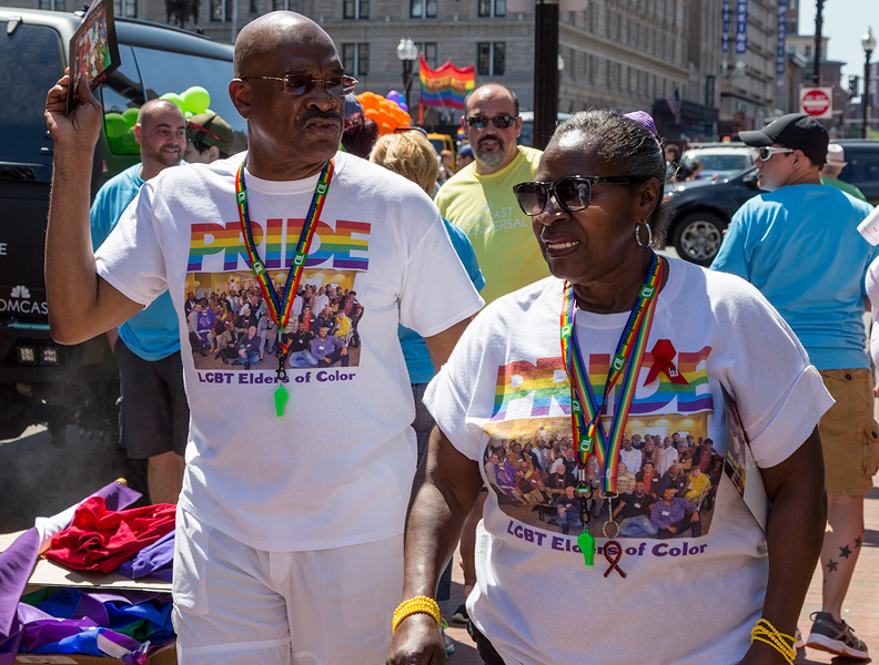 LGBT Elders of Color at Pride Parade