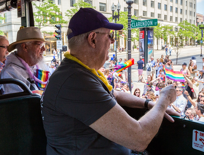 LGBT Older Adults at Pride Parade