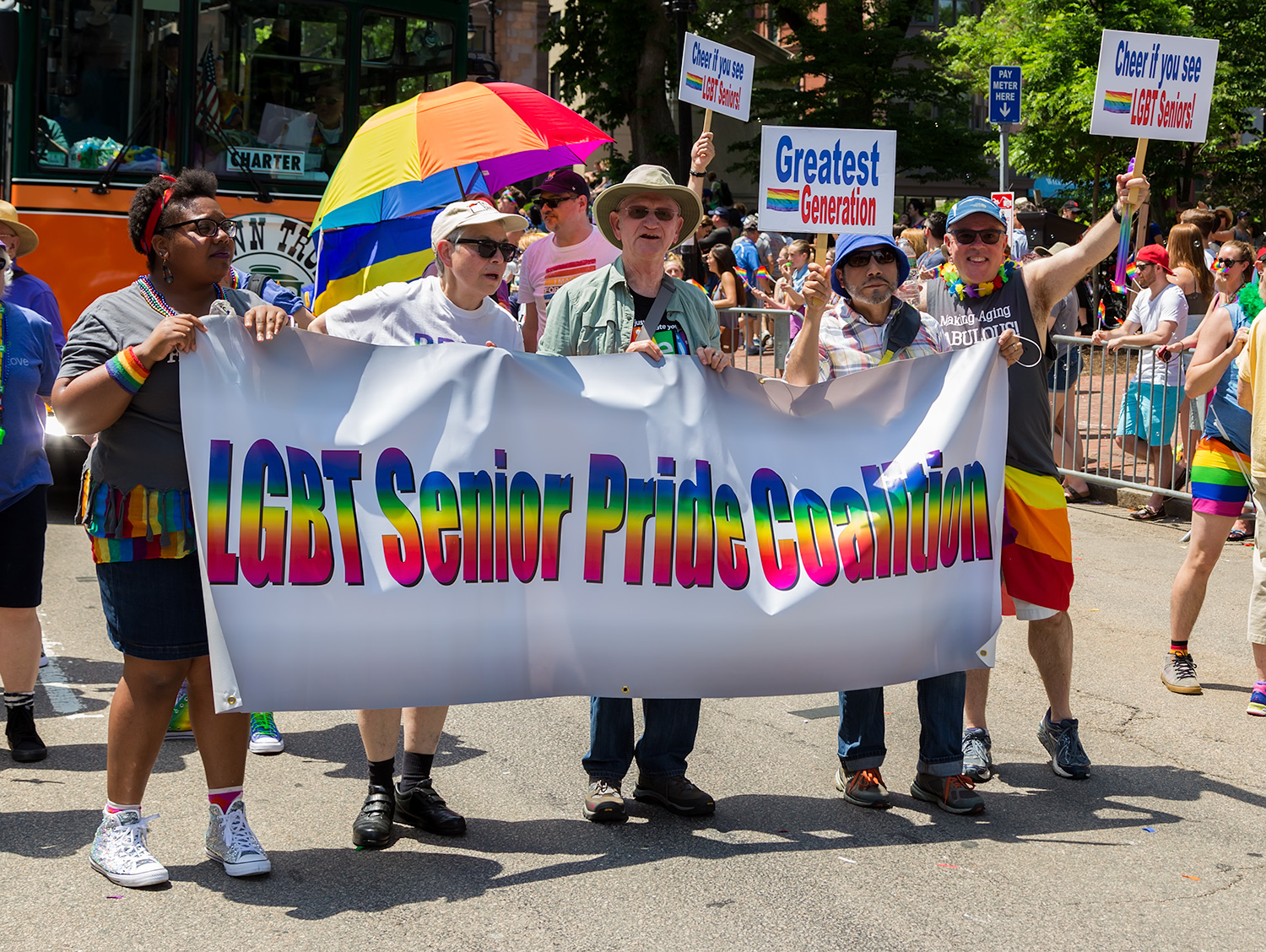 LGBT Senior Pride Coalition at Pride Parade