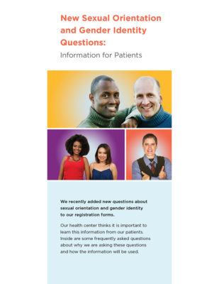 Brief: New Sexual Orientation and Gender Identity Questions: Information for Patients
