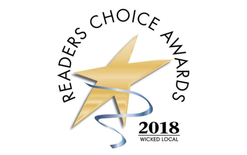READER'S CHOICE AWARD, WICKED LOCAL, JAMAICA PLAIN