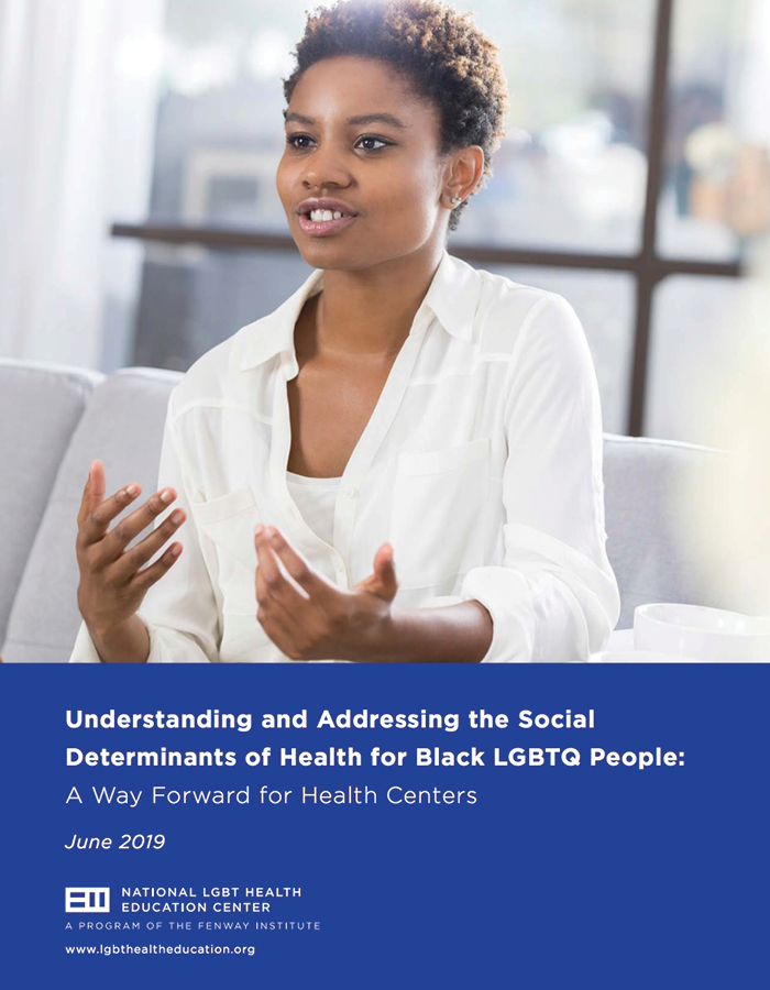 Addressing Social Determinants of Health for Black LGBTQ People