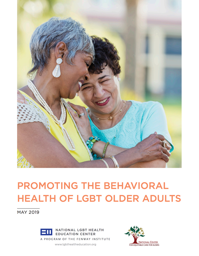 Promoting the Behavioral Health of LGBTQ Older Adults