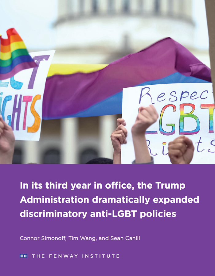 In its third year in office, the Trump Administration dramatically expanded discriminatory anti-LGBT policies